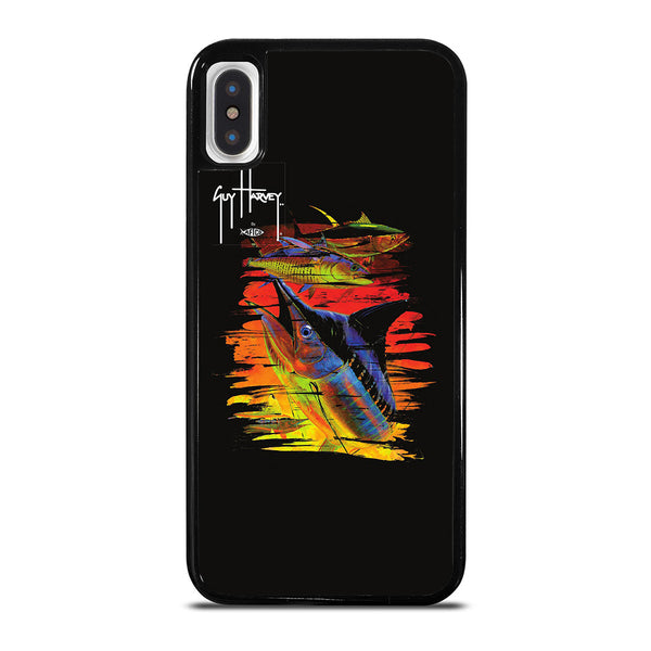 GUY HARVEY ISLAND MARLIN BOAT iPhone X / XS Case