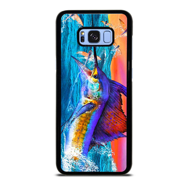 GUY HARVEY ISLAND MARLIN BOAT #1 Samsung Galaxy S8 Plus Case