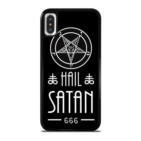HAIL SATAN DESIGN iPhone X / XS Case