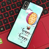 Happy Mind Happy Live 1 iPhone Case