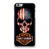 HARLEY DAVIDSON SKULL FLAG iPhone 6 / 6S Plus Case