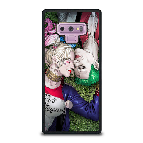HARLEY QUINN & JOKER LOVE #1 Samsung Galaxy Note 9 Case