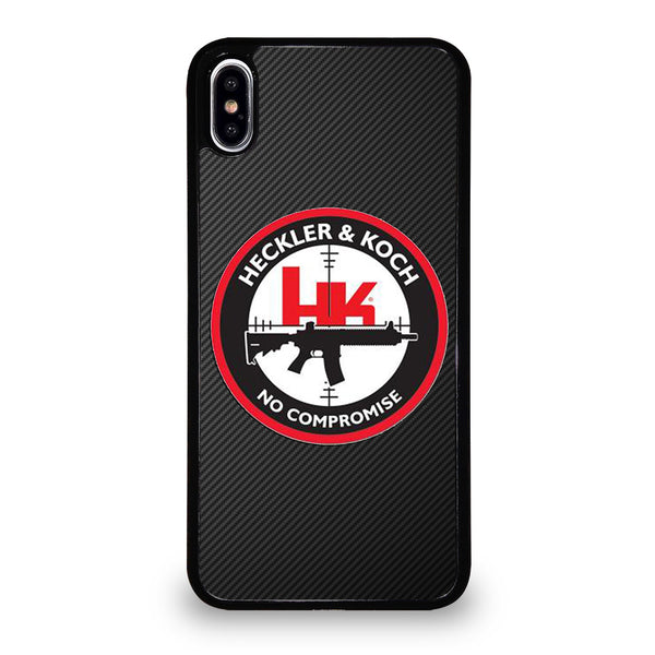 HECKLER AND KOCH LOGO iPhone XS Max Case