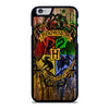 HOGWARTS HARRY POTTER LOGO WOOD iPhone 6 / 6S Case