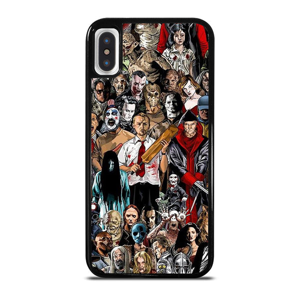 HORROR MOVIE COLLAGE iPhone X / XS Case