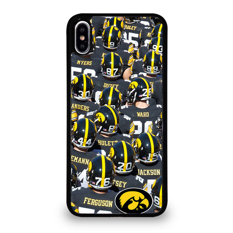 IOWA HAWKEYES FOOTBALL #2 iPhone XS Max Case