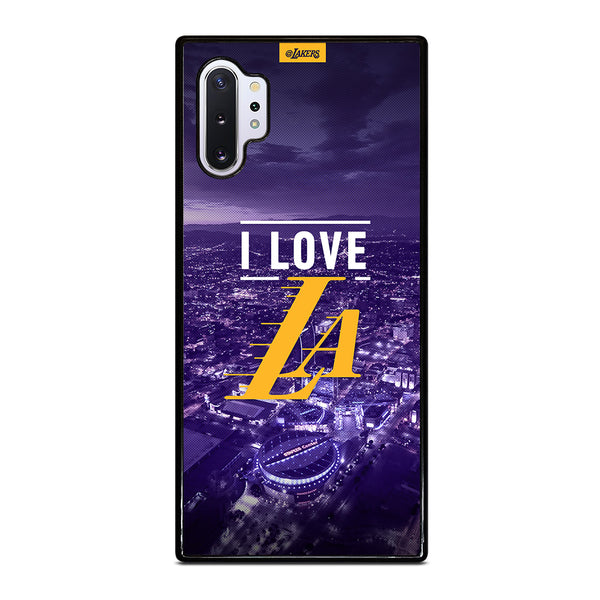 I LOVE LA LAKERS Samsung Galaxy Note 10 Plus Case