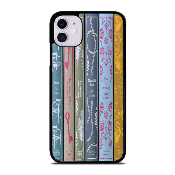 JANE AUSTEN BOOKS iPhone 11 Case