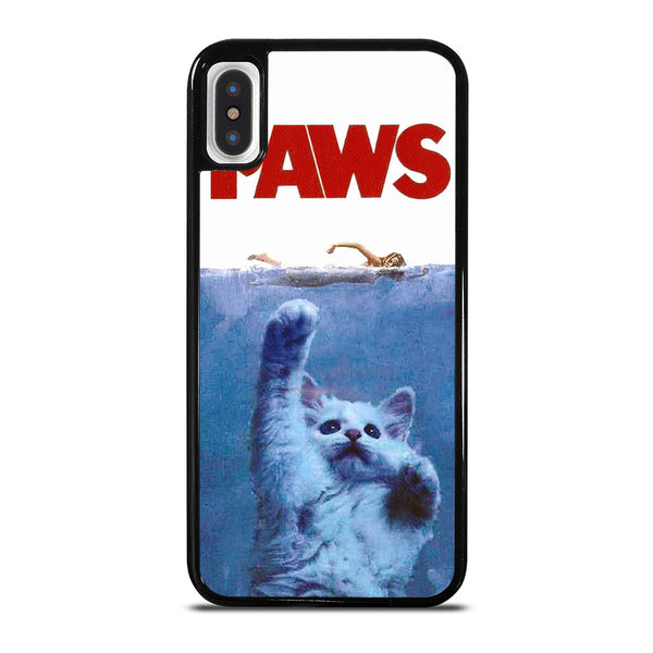 JAWS FUNNY CAT PAWS iPhone X / XS Case