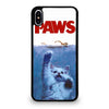 JAWS FUNNY CAT PAWS iPhone XS Max Case