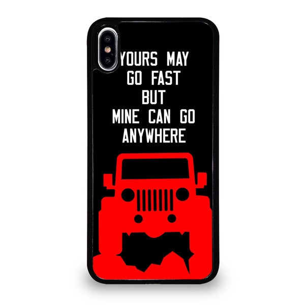 JEEP ADVENTURE QUOTE iPhone XS Max Case