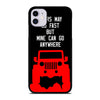 JEEP ADVENTURE QUOTE iPhone 11 Case