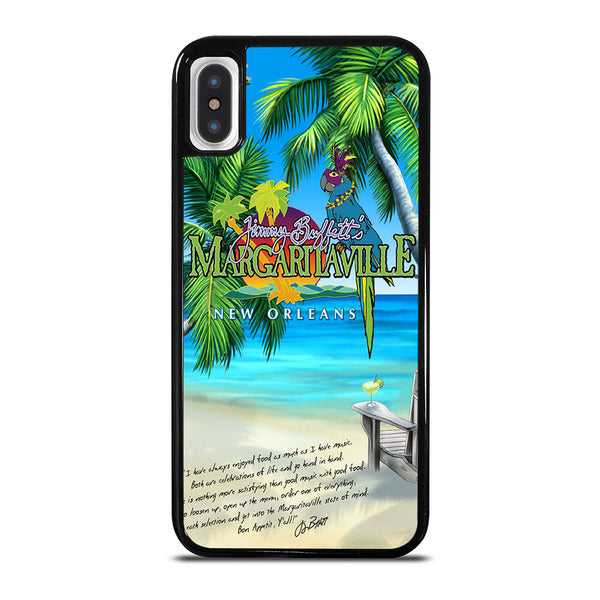JIMMY BUFFETS MARGARITAVILLE #2 iPhone X / XS Case