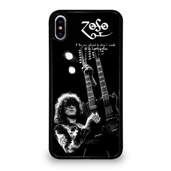 JIMMY PAGE LED ZEPPELIN #1 iPhone XS Max Case