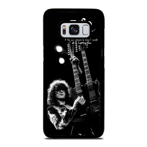JIMMY PAGE LED ZEPPELIN #1 Samsung Galaxy S8 Case