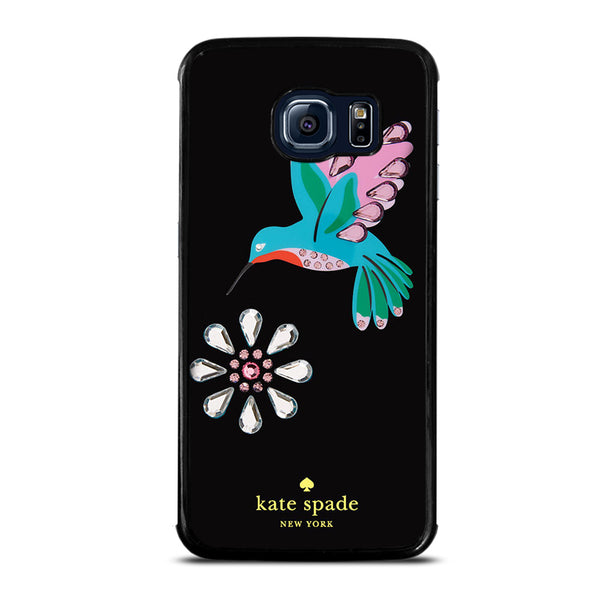 KATE SPADE FLOWER BIRD Samsung Galaxy S6 Edge Case