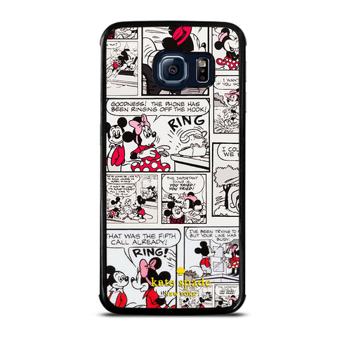 KATE SPADE MINNIE COMIC Samsung Galaxy S6 Edge Case