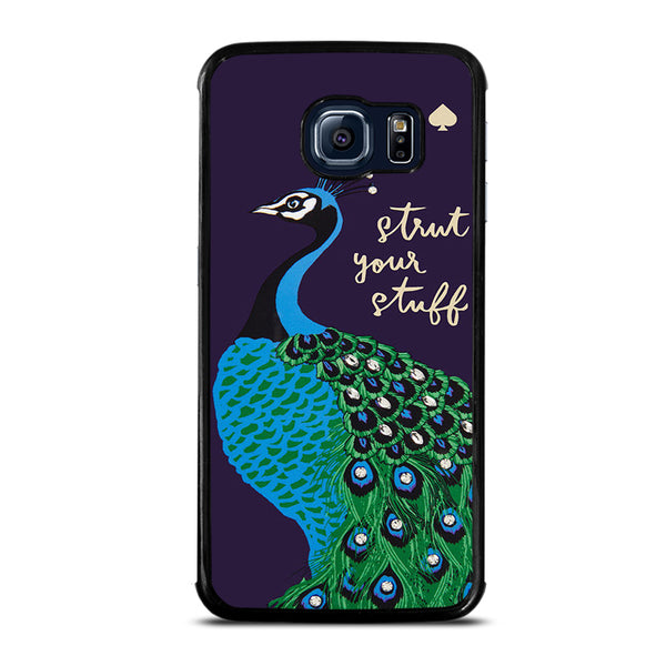 KATE SPADE PEACOCK BIRD Samsung Galaxy S6 Edge Case