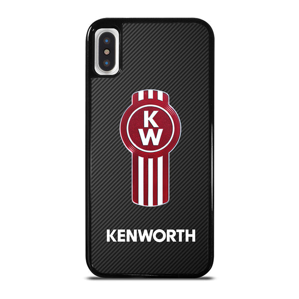 KENWORTH TRUCK LOGO CARBON #1 iPhone X / XS Case