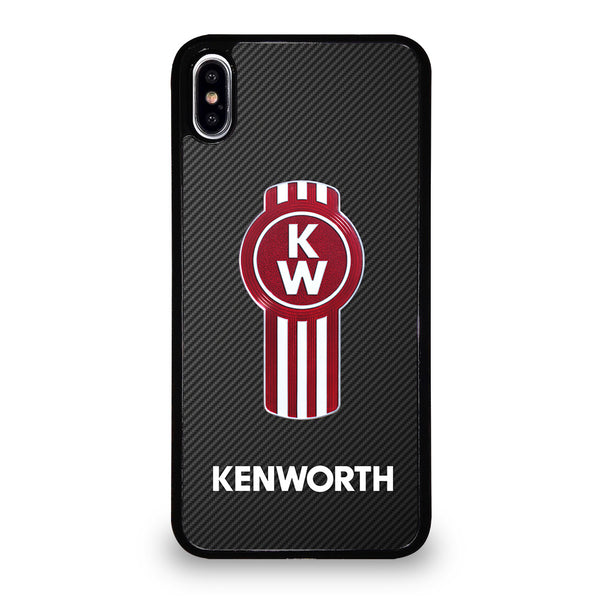 KENWORTH TRUCK LOGO CARBON #1 iPhone XS Max Case