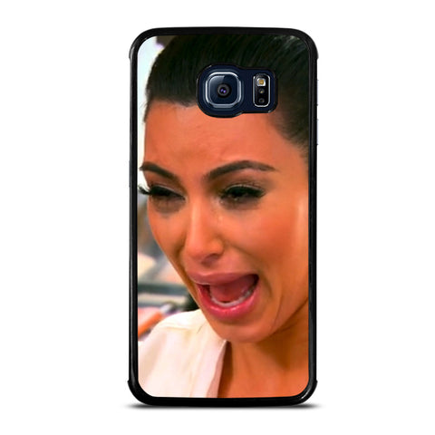 KIM KARDASHIAN CRIED CRY Samsung Galaxy S6 Edge Case