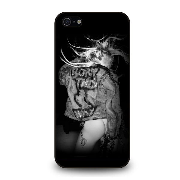 LADY GAGA BORN THIS WAY iPhone 5/5S/SE Case