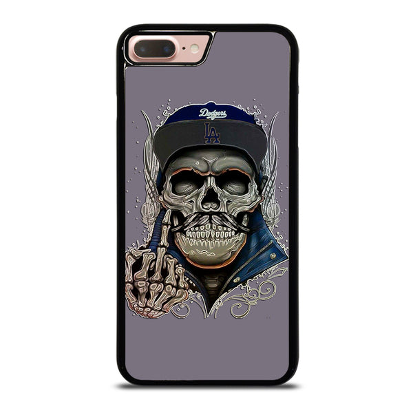 LA LOS ANGELES DODGERS SKULL iPhone 7 / 8 Plus Case