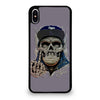 LA LOS ANGELES DODGERS SKULL iPhone XS Max Case