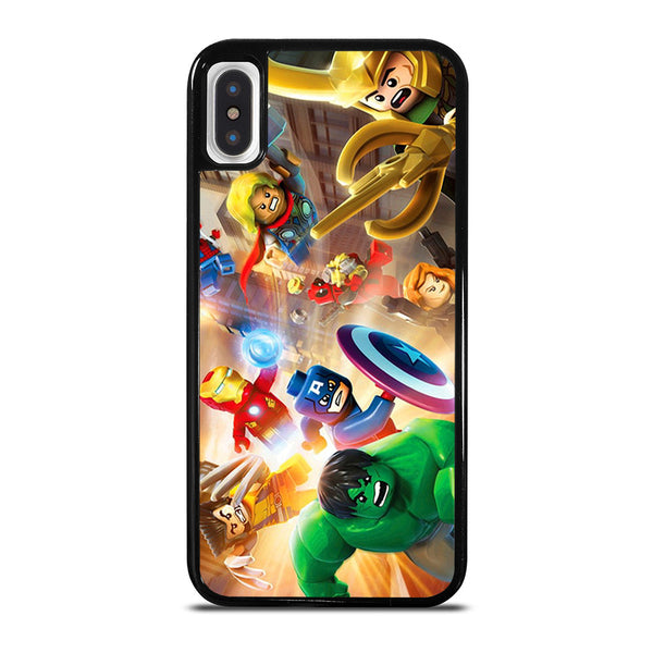 LEGO MARVEL SUPER HEROES iPhone X / XS Case