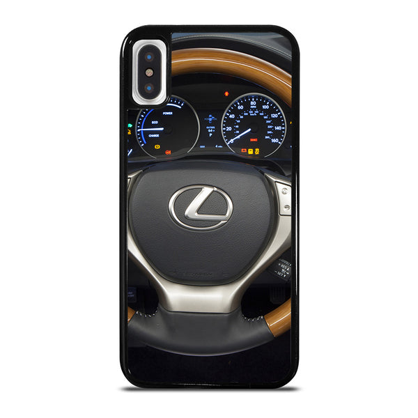 LEXUS STEERING WHEEL iPhone X / XS Case