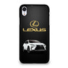 LEXUS WHITE CAR GOLD LOGO iPhone XR Case