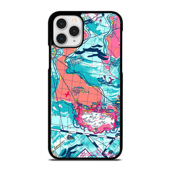 LILLY PULITZER MAP iPhone 11 Pro Case