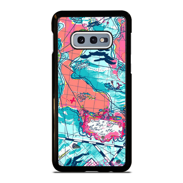 LILLY PULITZER MAP Samsung Galaxy S10 e Case