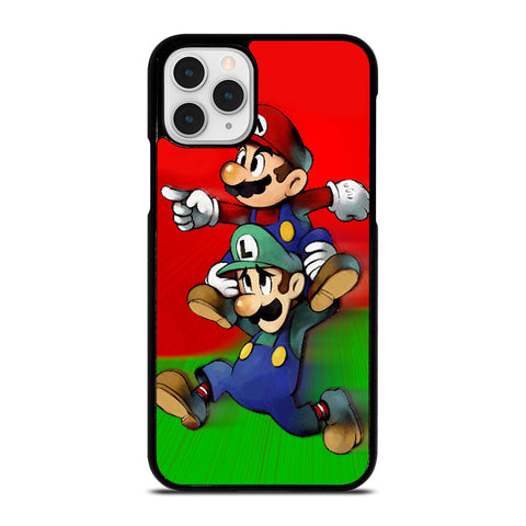 LUIGI MARIO CUTE CARTOON iPhone 11 Pro Case