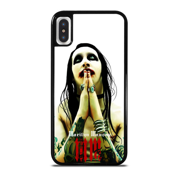 MARILYN MANSON GOTH ART iPhone X / XS Case