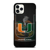MIAMI HURRICANES UM #3 iPhone 11 Pro Case