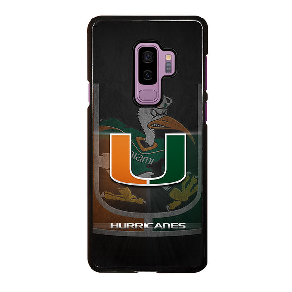 MIAMI HURRICANES UM #3 Samsung Galaxy S9 Plus Case
