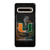 MIAMI HURRICANES UM #3 Samsung Galaxy S10 5G Case