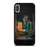 MIAMI HURRICANES UM 3 iPhone X / XS Case