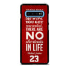 MICHAEL JORDAN QUOTES #3 Samsung Galaxy S10 Plus Case