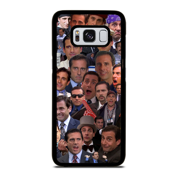 MICHAEL SCOTT COLLAGE Samsung Galaxy S8 Case