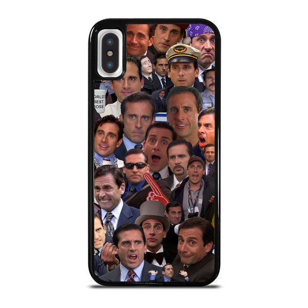 MICHAEL SCOTT COLLAGE iPhone X / XS Case