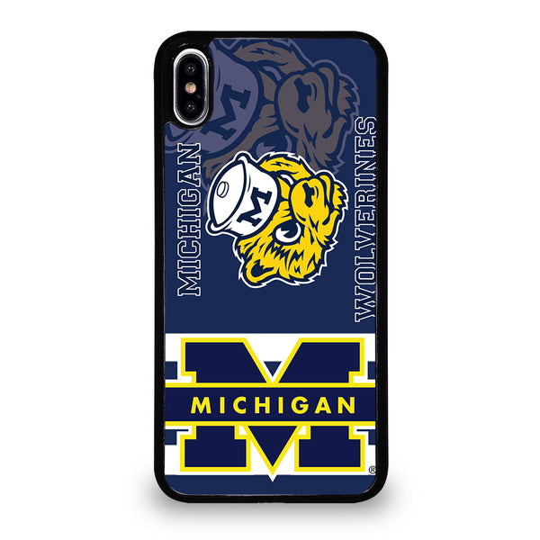 MICHIGAN WOLVERINES #6 iPhone XS Max Case