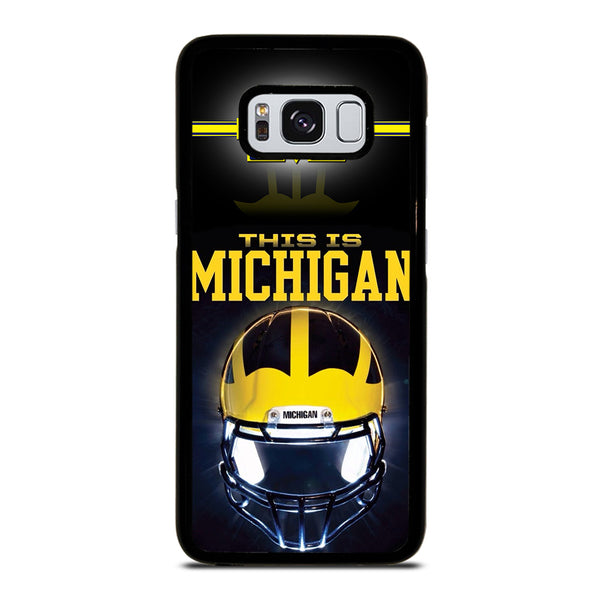 MICHIGAN WOLVERINES FOOTBALL #4 Samsung Galaxy S8 Case