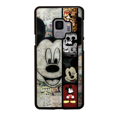 MICKEY MOUSE PAPER Samsung Galaxy S9 Case