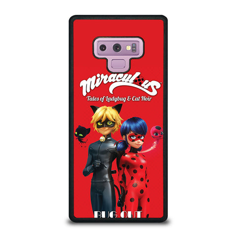 MIRACULOUS LADYBUG & CAT NOIR 1 Samsung Galaxy Note 9 Case