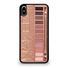 NAKED 3 URBAN PALETTE iPhone XS Max Case