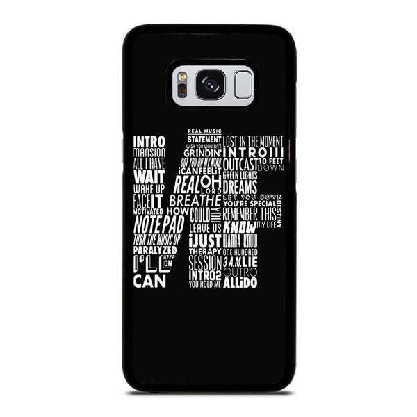 NF WORD COLLABORATION LOGO Samsung Galaxy S8 Case