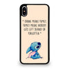 OHANA MEANS FAMILY #1 iPhone XS Max Case