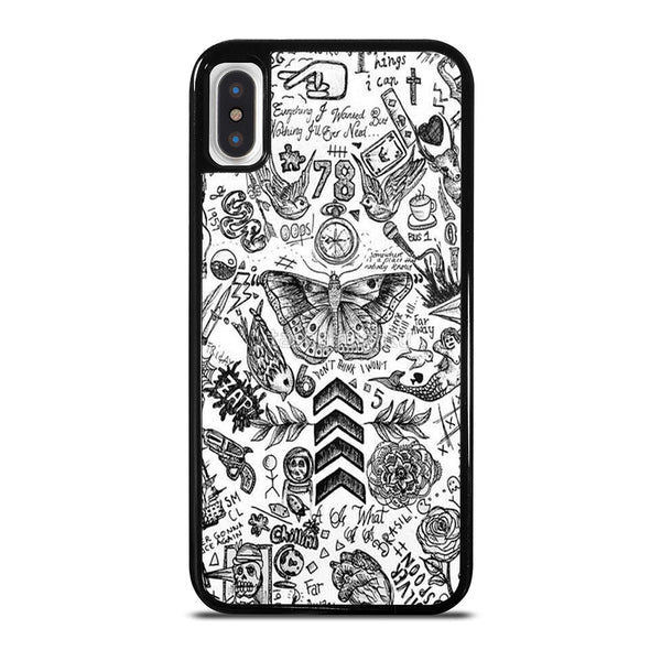 ONE DIRECTION TATTOOS iPhone X / XS Case